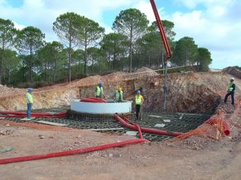 Tramitación y seguimiento ambiental de la construcción del Complejo Eólico del Andévalo