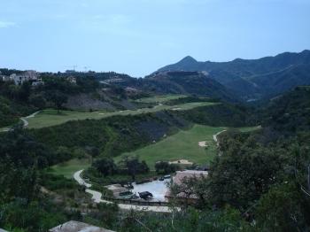 Restauración ambiental del campo de golf Los Barrancos de la Zagaleta