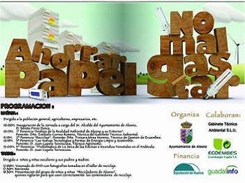 Primeras jornadas medioambientales del municipio de Alosno (Huelva)