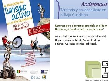 II Jornadas de Turismo Activo en el Río Guadiana \