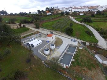 Dirección de obras de la EDAR de Berrocal (Huelva)